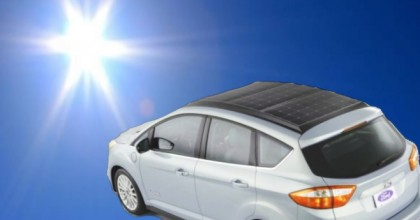 Solar Ford Seeks 620+ Mile Range and Solar Charging with Next C-Max